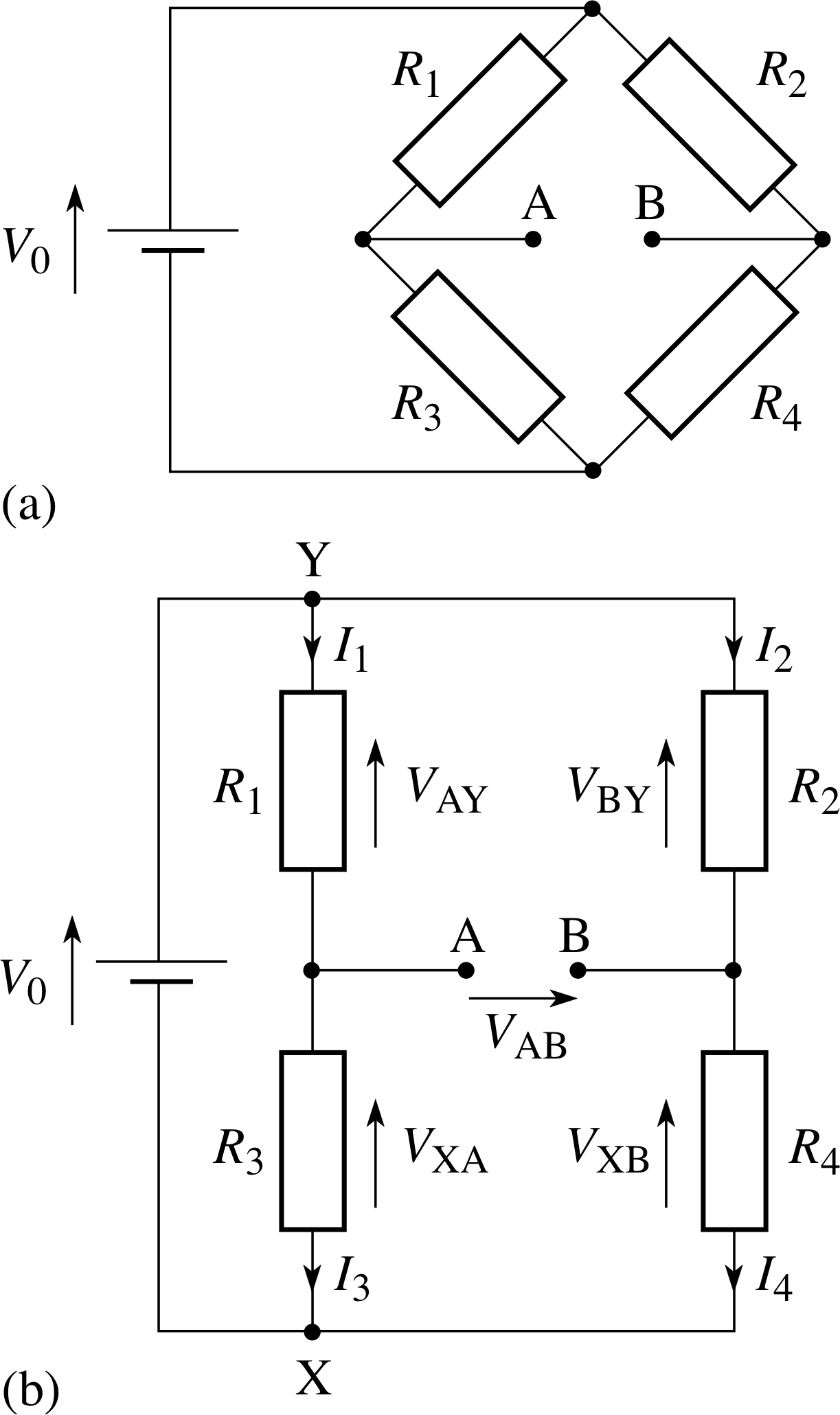 Pplato Flap Phys 41 Dc Circuits And Currents This Is Not So For A Parallel Circuit Bulbs Can Continually Be Added Figure 14 The Wheatstone Bridge