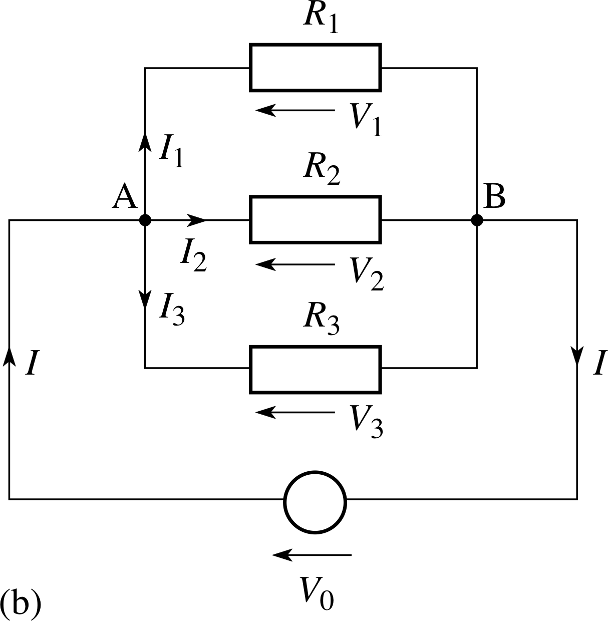 Pplato Flap Phys 41 Dc Circuits And Currents Connect The Series Circuit As Shown In Figure Below Using 10 15b Three Resistors Connected