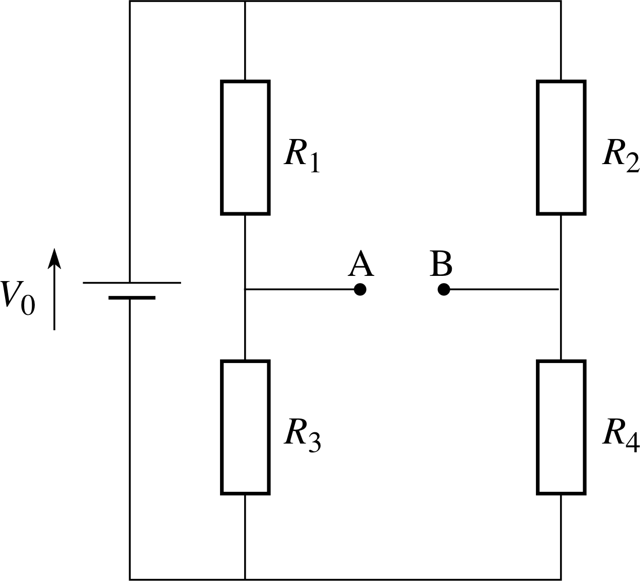 Pplato Flap Phys 41 Dc Circuits And Currents In This Simple Circuit The Two Resistors R1 R2 Represent Ordinary Figure