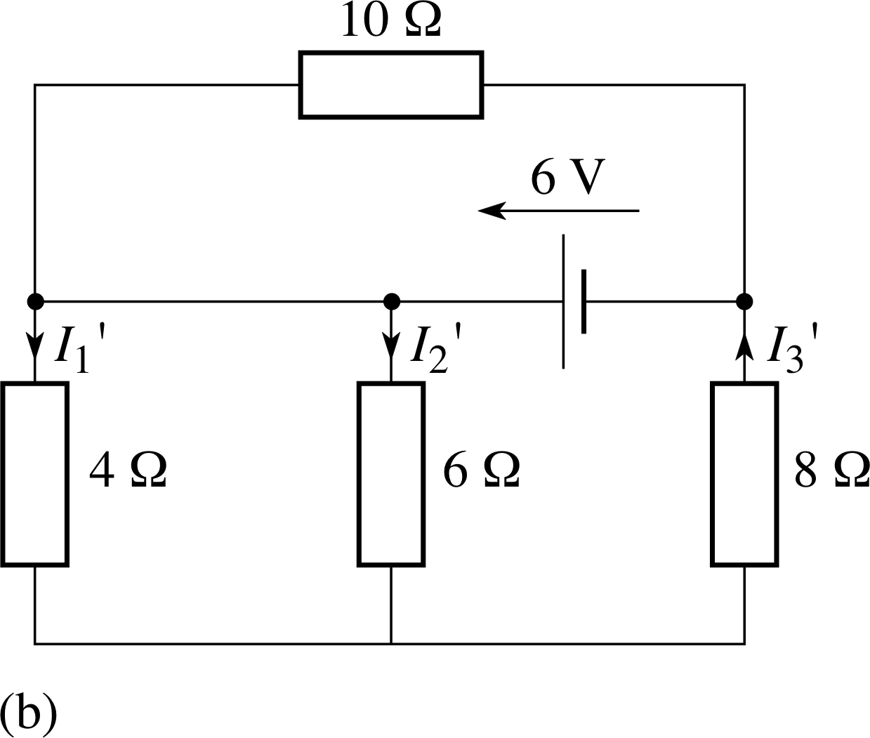 Pplato Flap Phys 41 Dc Circuits And Currents Wish To Calculate The Total Circuit Resistance Current Figure