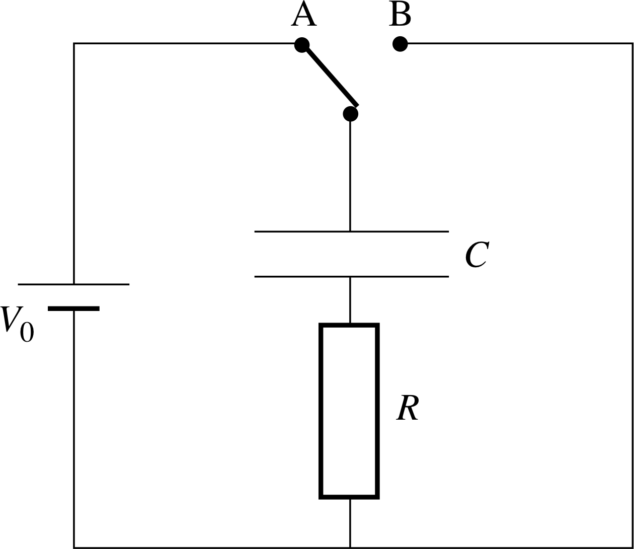Pplato Flap Phys 45 Energy In Electric And Magnetic Fields How To Make A Potato Battery Circuit Diagram Image 24 Transient Currents Capacitive Circuits